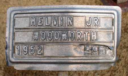 WOODWORTH JR., MELVIN - Newton County, Arkansas | MELVIN WOODWORTH JR. - Arkansas Gravestone Photos