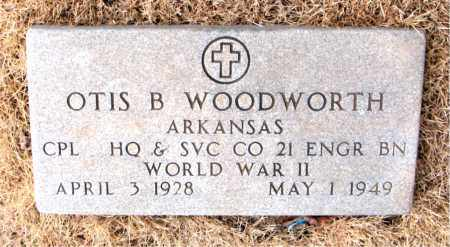 WOODWORTH  (VETERAN WWII), OTIS BURTON - Newton County, Arkansas | OTIS BURTON WOODWORTH  (VETERAN WWII) - Arkansas Gravestone Photos