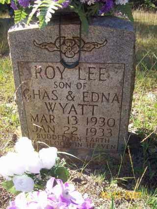 WYATT, ROY LEE - Newton County, Arkansas | ROY LEE WYATT - Arkansas Gravestone Photos