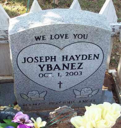 YBANEZ, JOSEPH HAYDEN - Newton County, Arkansas | JOSEPH HAYDEN YBANEZ - Arkansas Gravestone Photos