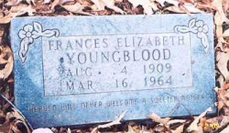 YOUNGBLOOD, FRANCIS ELIZABETH - Newton County, Arkansas | FRANCIS ELIZABETH YOUNGBLOOD - Arkansas Gravestone Photos