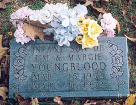 YOUNGBLOOD, INFANT SON - Newton County, Arkansas | INFANT SON YOUNGBLOOD - Arkansas Gravestone Photos