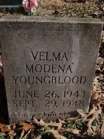 YOUNGBLOOD, VELMA MODENA - Newton County, Arkansas | VELMA MODENA YOUNGBLOOD - Arkansas Gravestone Photos