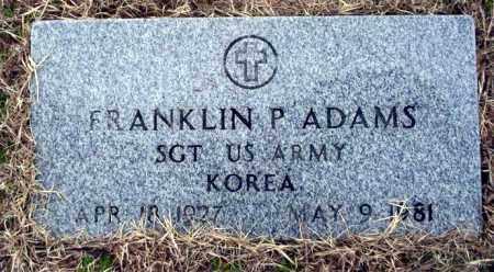 ADAMS  (VETERAN KOR), FRANKLIN - Ouachita County, Arkansas   FRANKLIN ADAMS  (VETERAN KOR) - Arkansas Gravestone Photos