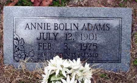 BOLIN ADAMS, ANNIE - Ouachita County, Arkansas | ANNIE BOLIN ADAMS - Arkansas Gravestone Photos