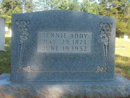 ADDY, JENNIE - Ouachita County, Arkansas | JENNIE ADDY - Arkansas Gravestone Photos