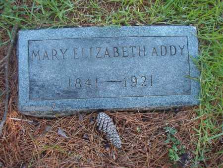 ADDY, MARY ELIZABETH - Ouachita County, Arkansas | MARY ELIZABETH ADDY - Arkansas Gravestone Photos
