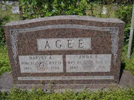 AGEE, HARVEY A - Ouachita County, Arkansas | HARVEY A AGEE - Arkansas Gravestone Photos