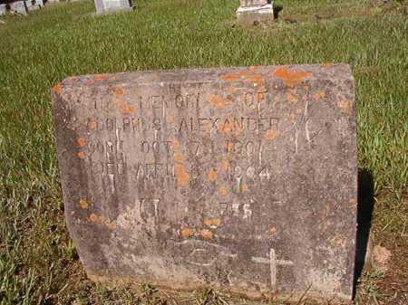 ALEXANDER, ADOLPHUS - Ouachita County, Arkansas | ADOLPHUS ALEXANDER - Arkansas Gravestone Photos