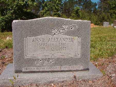 ALEXANDER, ANNIE - Ouachita County, Arkansas | ANNIE ALEXANDER - Arkansas Gravestone Photos