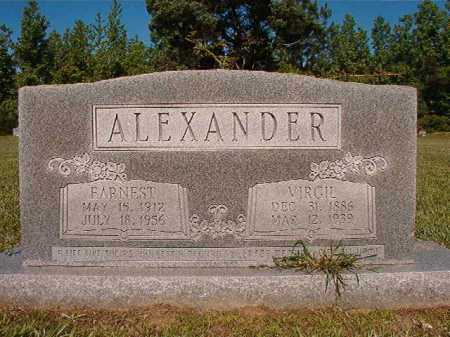 ALEXANDER, EARNEST - Ouachita County, Arkansas | EARNEST ALEXANDER - Arkansas Gravestone Photos