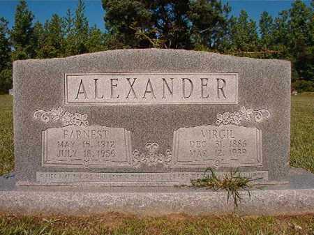 ALEXANDER, VIRGIL - Ouachita County, Arkansas | VIRGIL ALEXANDER - Arkansas Gravestone Photos