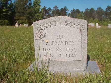 ALEXANDER, ELI - Ouachita County, Arkansas   ELI ALEXANDER - Arkansas Gravestone Photos