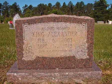 ALEXANDER, KING - Ouachita County, Arkansas | KING ALEXANDER - Arkansas Gravestone Photos