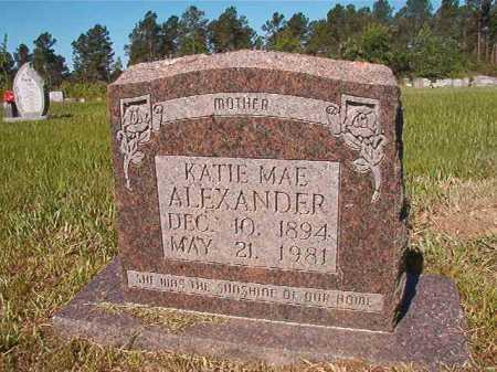 ALEXANDER, KATIE MAE - Ouachita County, Arkansas | KATIE MAE ALEXANDER - Arkansas Gravestone Photos