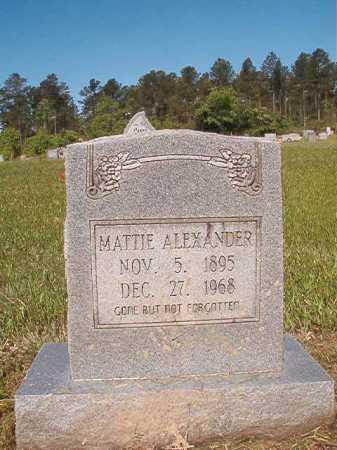 ALEXANDER, MATTIE - Ouachita County, Arkansas | MATTIE ALEXANDER - Arkansas Gravestone Photos
