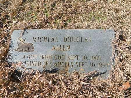 ALLEN, MICHEAL DOUGLAS - Ouachita County, Arkansas | MICHEAL DOUGLAS ALLEN - Arkansas Gravestone Photos