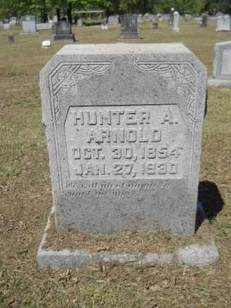 ARNOLD, HUNTER A - Ouachita County, Arkansas   HUNTER A ARNOLD - Arkansas Gravestone Photos