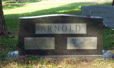ARNOLD, MARY DALE - Ouachita County, Arkansas | MARY DALE ARNOLD - Arkansas Gravestone Photos