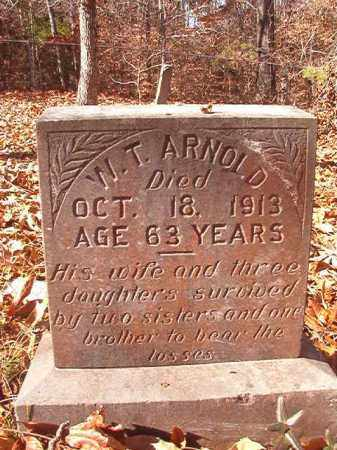 ARNOLD, W T - Ouachita County, Arkansas | W T ARNOLD - Arkansas Gravestone Photos