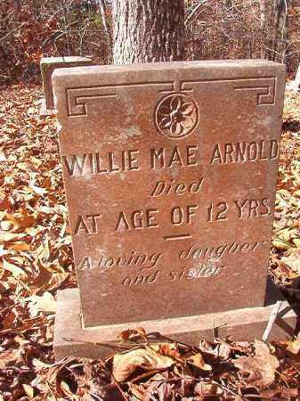 ARNOLD, WILLIE MAE - Ouachita County, Arkansas   WILLIE MAE ARNOLD - Arkansas Gravestone Photos