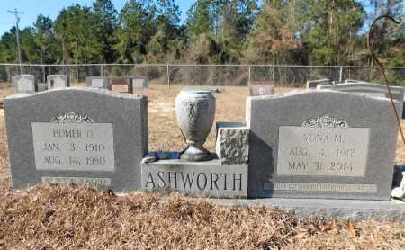 ASHWORTH, HOMER O - Ouachita County, Arkansas   HOMER O ASHWORTH - Arkansas Gravestone Photos