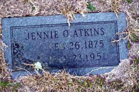 ATKINS, JENNIE O - Ouachita County, Arkansas | JENNIE O ATKINS - Arkansas Gravestone Photos