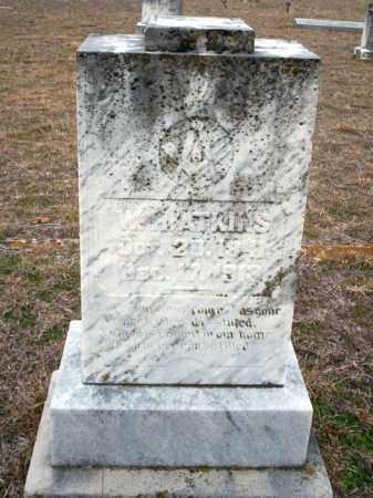 ATKINS, W.H. - Ouachita County, Arkansas   W.H. ATKINS - Arkansas Gravestone Photos