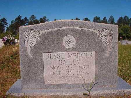BAILEY, JESSE MERCER - Ouachita County, Arkansas | JESSE MERCER BAILEY - Arkansas Gravestone Photos