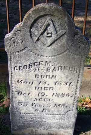 BARKER, GEORGE M - Ouachita County, Arkansas | GEORGE M BARKER - Arkansas Gravestone Photos