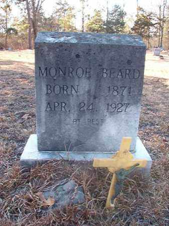 BEARD, MONROE - Ouachita County, Arkansas | MONROE BEARD - Arkansas Gravestone Photos