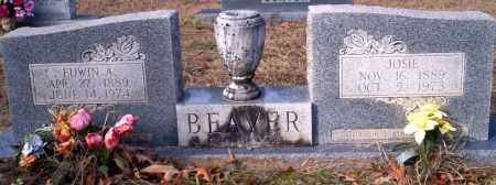 BEAVER, JOSIE - Ouachita County, Arkansas | JOSIE BEAVER - Arkansas Gravestone Photos