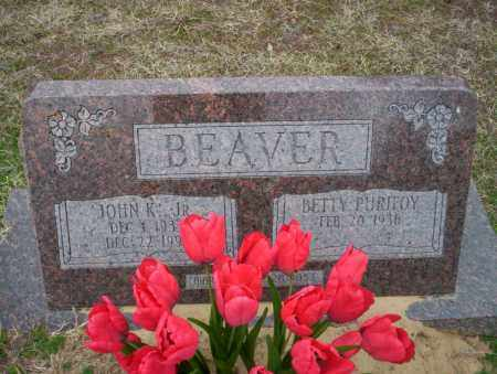 BEAVER JR., JOHN K - Ouachita County, Arkansas | JOHN K BEAVER JR. - Arkansas Gravestone Photos