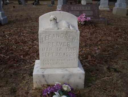 BEAVER, LEE ANDREW - Ouachita County, Arkansas | LEE ANDREW BEAVER - Arkansas Gravestone Photos