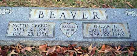 BEAVER, NETTIE - Ouachita County, Arkansas | NETTIE BEAVER - Arkansas Gravestone Photos