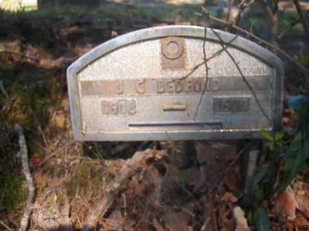 BEDFORD, J C - Ouachita County, Arkansas   J C BEDFORD - Arkansas Gravestone Photos