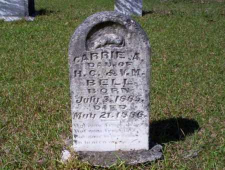 BELL, CARRIE A - Ouachita County, Arkansas | CARRIE A BELL - Arkansas Gravestone Photos