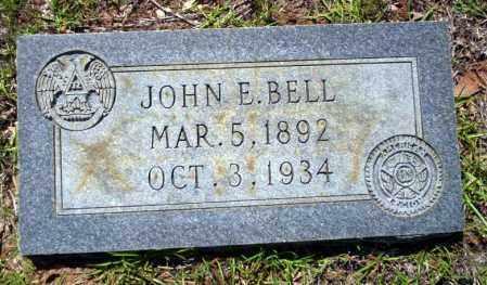 BELL (VETERAN), JOHN E. - Ouachita County, Arkansas | JOHN E. BELL (VETERAN) - Arkansas Gravestone Photos