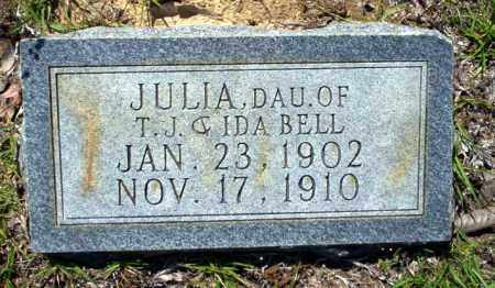 BELL, JULIA - Ouachita County, Arkansas | JULIA BELL - Arkansas Gravestone Photos
