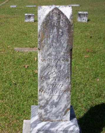 BELL, MARY ANN - Ouachita County, Arkansas | MARY ANN BELL - Arkansas Gravestone Photos