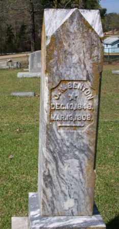 BENTON, J. N. - Ouachita County, Arkansas | J. N. BENTON - Arkansas Gravestone Photos