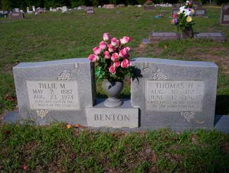 BENTON, TILLIE M - Ouachita County, Arkansas | TILLIE M BENTON - Arkansas Gravestone Photos