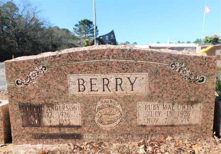BERRY, ROLAND ANDERSON - Ouachita County, Arkansas | ROLAND ANDERSON BERRY - Arkansas Gravestone Photos