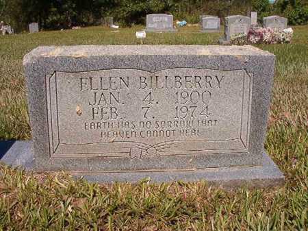 BILLBERRY, ELLEN - Ouachita County, Arkansas   ELLEN BILLBERRY - Arkansas Gravestone Photos