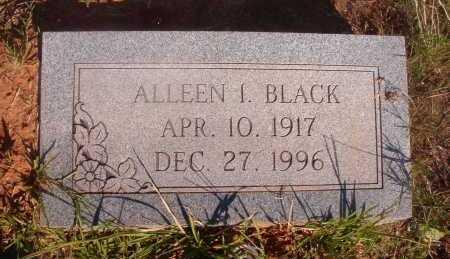 BLACK, ALLEEN I - Ouachita County, Arkansas | ALLEEN I BLACK - Arkansas Gravestone Photos