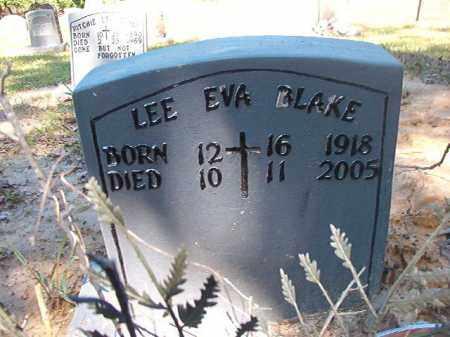 BLAKE, LEE EVA - Ouachita County, Arkansas | LEE EVA BLAKE - Arkansas Gravestone Photos
