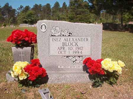 BLOCK, INEZ - Ouachita County, Arkansas | INEZ BLOCK - Arkansas Gravestone Photos