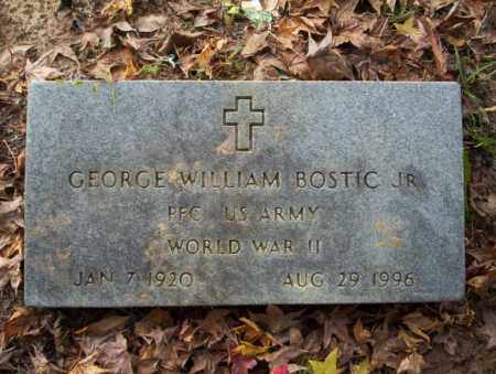 BOSTIC JR. (VETERAN WWII), GEORGE WILLIAM - Ouachita County, Arkansas | GEORGE WILLIAM BOSTIC JR. (VETERAN WWII) - Arkansas Gravestone Photos