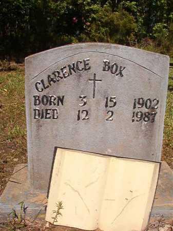 BOX, CLARENCE - Ouachita County, Arkansas   CLARENCE BOX - Arkansas Gravestone Photos