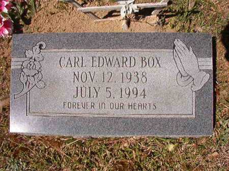 BOX, CARL EDWARD - Ouachita County, Arkansas   CARL EDWARD BOX - Arkansas Gravestone Photos